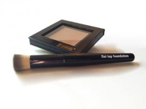 Authentic Beauty Magic 3 in 1 Foundation and Application Brush.
